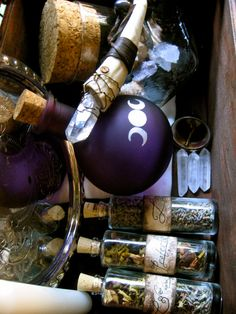 The Magical Trunk  Large Witch Kit by EireCrescent on Etsy, $85.00