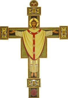 Eucharystia Pictures Of Jesus Christ, Religious Pictures, Religious Icons, Religious Art, Church Flower Arrangements, Christ Is Risen, The Cross Of Christ, Holy Cross, Catholic Art