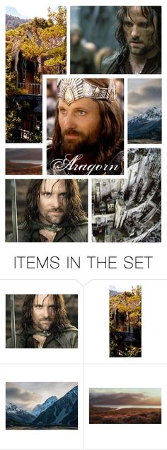 """""""Aragorn - BFTW Round 1: Introduction"""" by onemonday ❤ liked on Polyvore featuring art"""