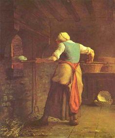 パンを焼く女(581×699)
