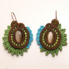 kolczyki sutasz soutache earrings 4