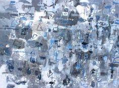 "Saatchi Art Artist Sarah Giannobile; Painting, ""Linear abstraction 2"" #art"