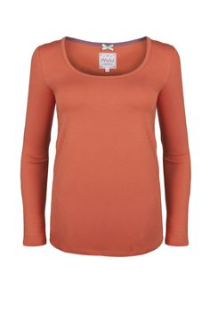 Autumn Tee  http://www.mistral-online.com/clothing-c50/t-shirts-c6/autumn-long-sleeve-scoop-neck-tee-burnt-sienna-p19917