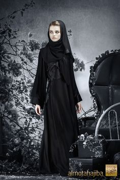 Abaya by Almotahajiba. Winter Collection 2013-2013.