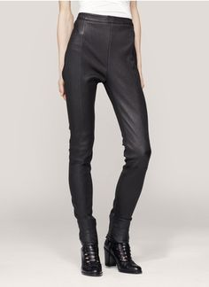Acne Best skinny leather pants o US$1,810 at Lanecrawford.com. So ACNE!