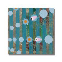 "Trademark Fine Art Alexandra Rey 'The Infallibility of Instinct Iii' 35"" x 35"" Canvas Art"