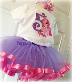 My Little Pony Birthday Ribbon Trim Tutu Set My Little Pony Birthday Party, 5th Birthday Party Ideas, Diy Birthday Decorations, 3rd Birthday, Birthday Celebration, Pink Princess, Sydney, Faith, Babies