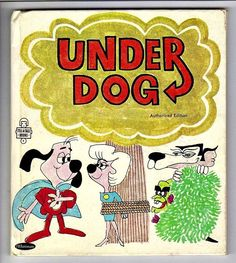 Under Dog Vintage 1960's Whitman Tell A Tale Book 2627 | eBay