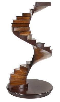 Buy Authentic Models Spiral Stairs online with Houseology's Price Promise. Full Authentic Models collection with UK & International shipping. Spiral Staircase, Staircase Design, Staircase Ideas, Modern Staircase, Stair Design, Wood Home Decor, Handmade Home Decor, Balustrades, Stair Steps