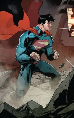 New 52 Superman Superman News, Superman Man Of Steel, Superman Wonder Woman, Batman Vs Superman, Superman Family, Comic Book Characters, Comic Character, Comic Books Art, Comic Art