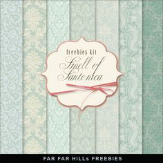 Far Far Hill - Free database of digital illustrations and papers: New Freebies Kit of Paper - Smell of Santonica
