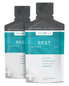 THRIVE Plus SGT Rest - Thrive Plus Rest Gel - Rest features Sequential Gel Technology with a restful, calming effort for relaxation support & stress management.