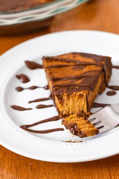 Nutella Swirled Pumpkin Pie (2 of 1)