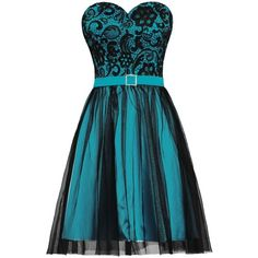 ANTS Women's Black Tulle Lace Evening Prom Dress Short Party Dress ($46) ❤ liked on Polyvore featuring dresses, evening cocktail dresses, holiday cocktail dresses, tulle cocktail dress, lace evening dresses and short prom dresses