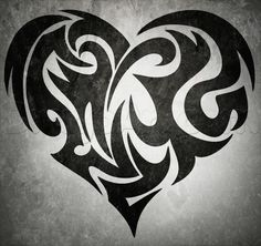 how to attract a tribal coronary heart tattoo.... *** Find out even more at the image