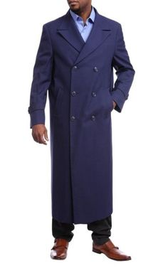 This item is ideal for weddings, proms, black tie, business and other formal events. Topcoat Men, Double Breasted Trench Coat, Navy Blue Color, Blue Wool, Top Coat, Black Tie, Black Diamond, Suit Jacket, Mens Fashion
