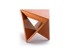 "Check out new work on my @Behance portfolio: ""Triangular Chair""…"