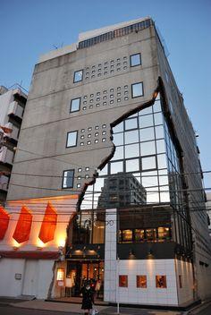 Amazing Building: Ebisu East Gallery, Japan