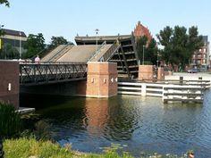 Elbląg - Old Town - bridge opening.