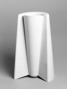 vase Pago-Pago, Reversible Vase, design Enzo Mari 1969 executed by Danese Milano