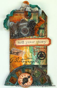 Absolutely stunning!!!!!!!!!!!!Layers of ink: 12 tags of 2013 July, using lots of Tim Holtz products.