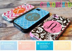 Monogrammed LifeProof Cases - Personalized LifeProof Cases