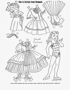 Children's Friend - Costumes Around the World 1959 - Lorie Harding - Picasa Web Albums