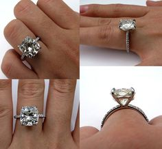 Reserved...Spectacular 5.88ct Estate Vintage by TreasurlybyDima
