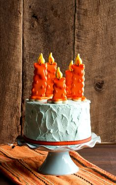 Birthday Candle Cookies via thebearfootbaker.com