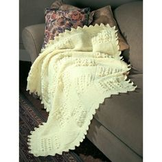 Free Intermediate Afghan Knit Pattern