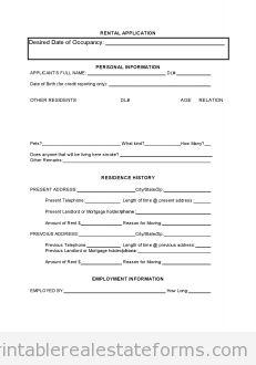 Sample Printable Pp Trust Form  Printable Real Estate Forms