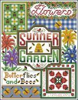 Cross stitch *<3*Free Patterns Summer Garden Patchwork