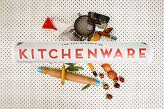 KITCHEN CARTOGRAPHY POSTER - on Archer and Archer - www.archerandarcher.com