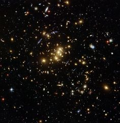 The cluster CL0024+17, located in Pisces, is a galaxy cluster that is allowing astronomers to probe the distribution of dark matter in space...