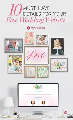 Start your wedding off on the right foot with an essential wedding planning tool: your free wedding website. Make sure your include these details in your free wedding website from the date and time to lodging options.