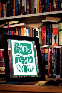 Handmade Papercut Home Is Wherever I'm with by FlyingPaperAirplane, $35.00