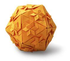 Star Icosahedron - Evan Zodl by EZ Origami