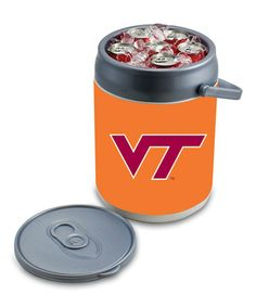 Take a look at this Virginia Tech Can Cooler by Tailgate Essentials Collection on #zulily today!