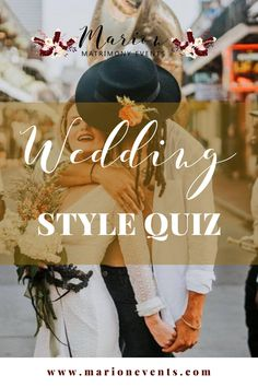 The first thing we suggest to our couples is defining their wedding style! This is about you and the whole day should reflect both of your personalities. Whether you are looking for romantic wedding decoration inspiration, boho wedding reception, or luxury wedding venue chateaus, this quiz has something for everyone. Unique weddings are our specialty. Take our quiz and get a professional mood board for unique wedding inspiration! #weddings #uniquewedding #weddingphotography Nontraditional Wedding Ceremony, Wedding Ceremony Flowers, Boho Wedding, Wedding Reception, Dream Wedding, Wedding Tips, Romantic Wedding Inspiration, Wedding Planning Inspiration, Luxury Wedding Venues
