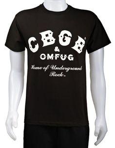 CBGB - Home of Underground Rock Shirt $19.99