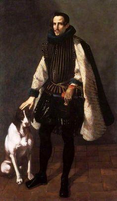 Jerónimo Jacinto de Espinosa | Portrait of Don Francisco Vives de Cañamás, Count of Faura, 1620s