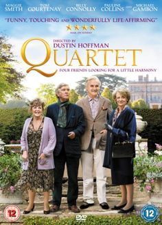 Quartet (2013) starring Pauline Collins, Billy Connolly, Tom Courtenay, and Maggie Smith