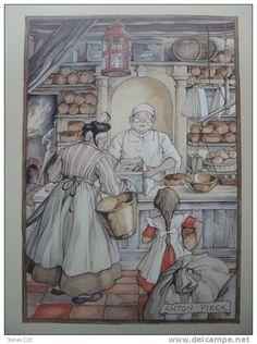 Anton Pieck - de bakker