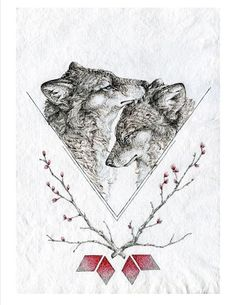 "forestlore: "" By Sarah Leea Petkus /|\ Nest & Burrow www.NestandBurrow.etsy.com """