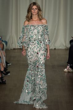 Marchesa Spring 2015 RTW – Runway – Vogue