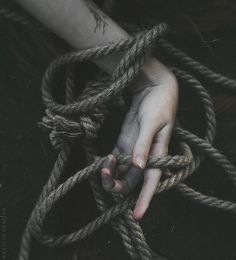 Eerie | Creepy | Surreal | Uncanny | Strange | 不気味 | Mystérieux | Strano | The rope by NataliaDrepina