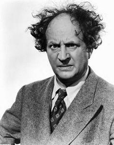 """Larry Fine, fue un actor y comediante estadounidense, famoso por ser uno de los tres primeros, """"chiflados""""."""