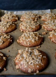 GINGER SPICE COOKIE with CINNAMON OAT CRUNCH [eatinmykitchen]