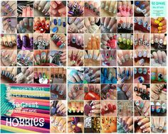 40 Great Nail Art Ideas - Teal (  accent)