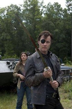 Le Gouverneur et le katana de Michonne [Photo du jour]